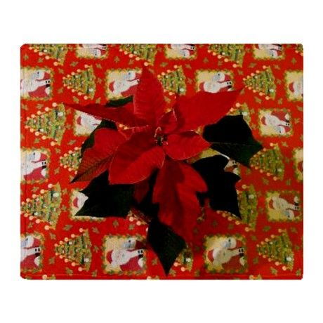 Christmas Throw Blanket on CafePress.com