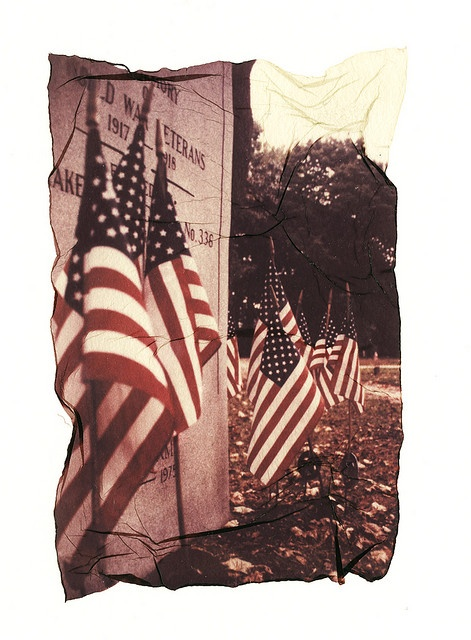 Cemetery emulsion lift by .jamie88., via Flickr