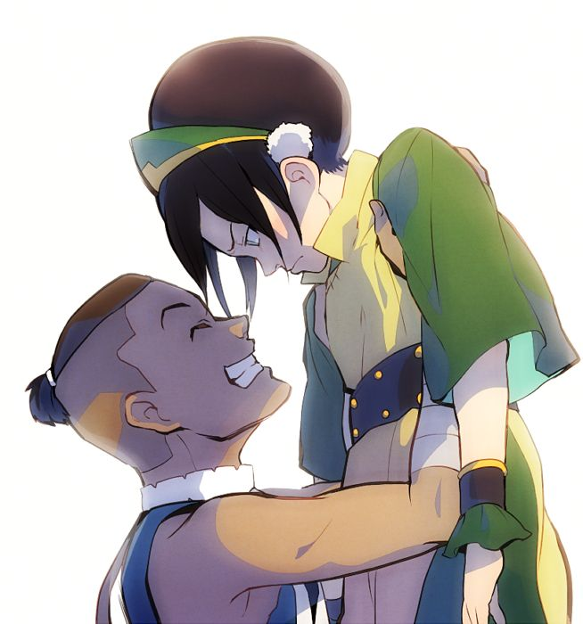 sokka and toph relationship advice