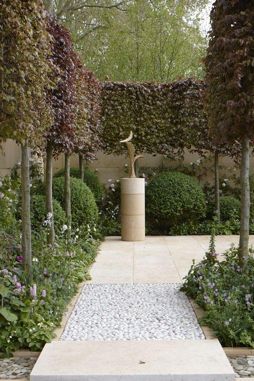 Arne Maynard, Chelsea Flower Show garden created for Champagne Laurent-Perrier in 2012