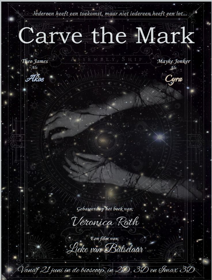 Poster Opdracht Carve The Mark Book Fandoms Veronica Roth Carving