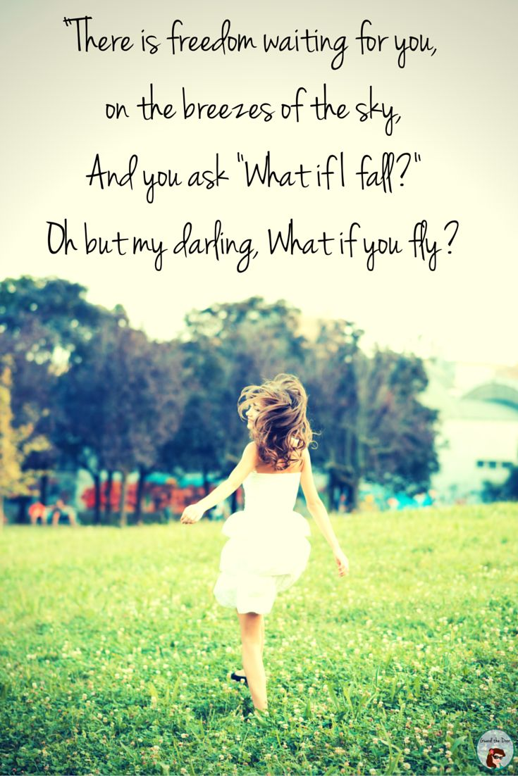 It's #FaithfulFriday again, which means another awesome, uplifting message. Today, I have chosen Erin Hanson's poem as our inspiration. #WhatifIfall #WhatifYouFly