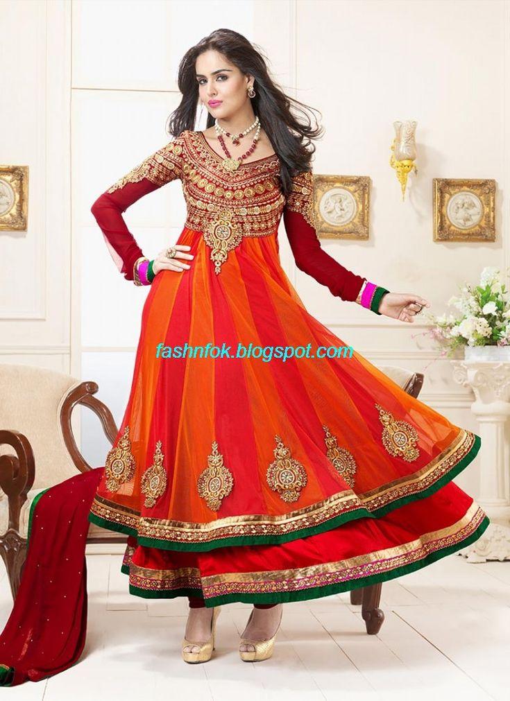 Anarkali-Umbrella-Wedding-Brides-Fancy-Party-Wear-Frocks-2013-Latest-Fashionable-Clothes-9