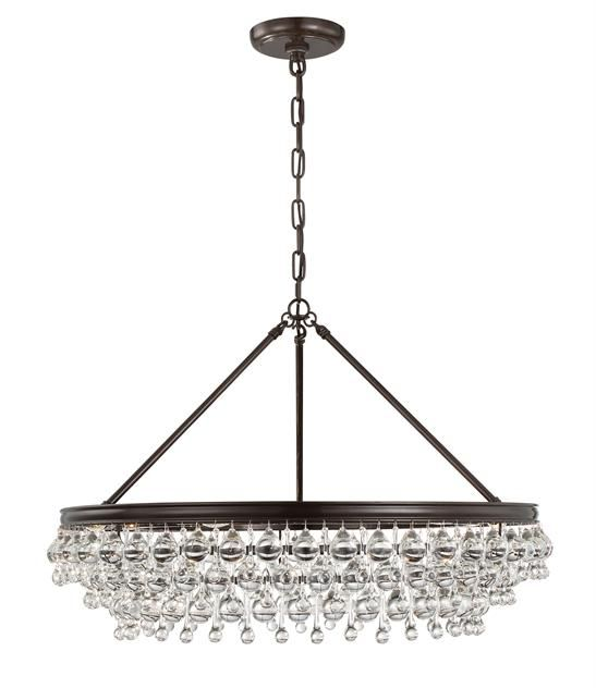 A good value for the quality and look. Looks like the coveted Ochre Arctic Pear chandelier.