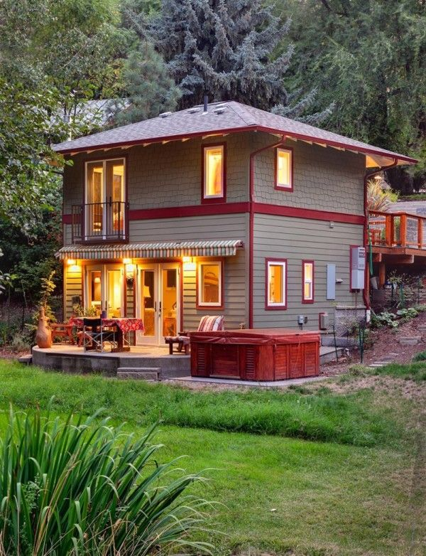 664 sq ft cottage in ashland oregon pinned by haw for House plans oregon