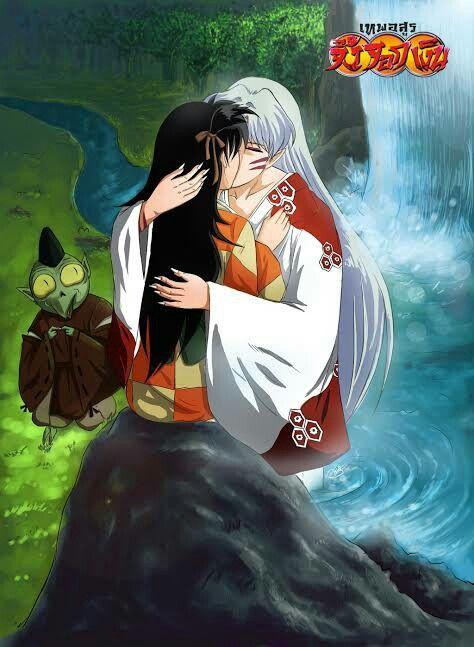 Sesshomaru and Rin and DONT FORGET JAKEEEENS FACEEEE! Looool