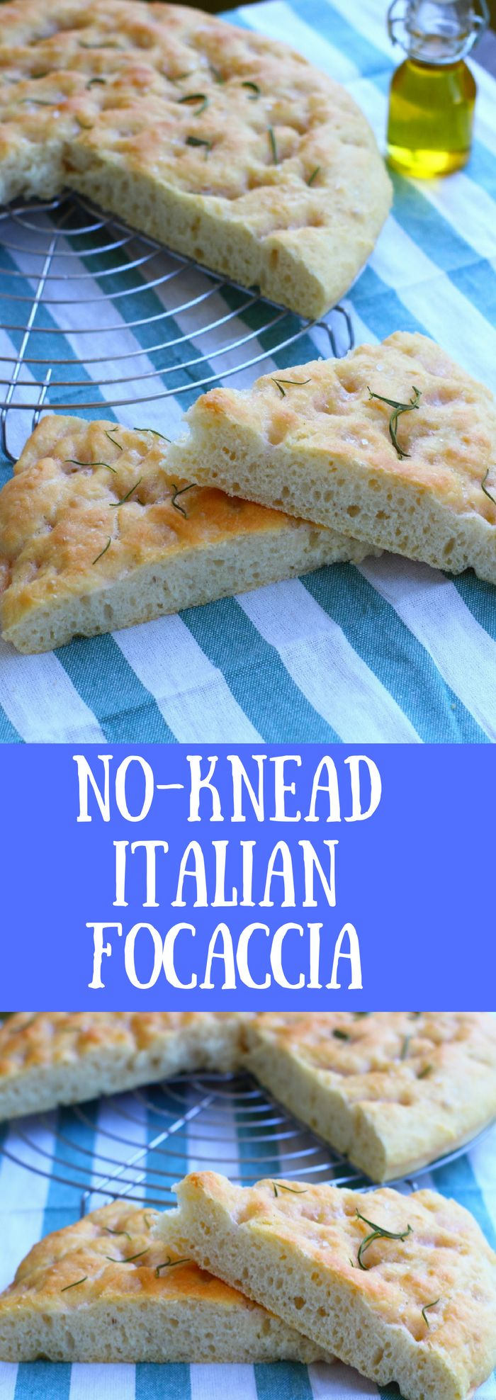 This focaccia follows an easy, fast procedure, it takes less than 2 hours in total! It seems too good to be true, but you'll be amazed by the great result.