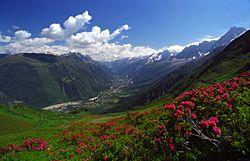 Beautiful Fagaras Mountains Romania