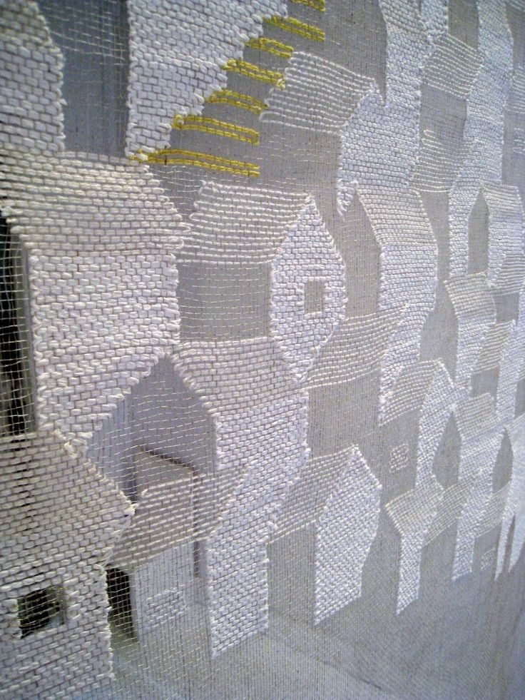 transparent weaving by Yui Inoue.