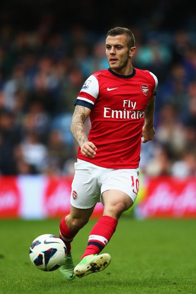 ~ Jack Wilshere of Arsenal FC against Queens Park Rangers ~