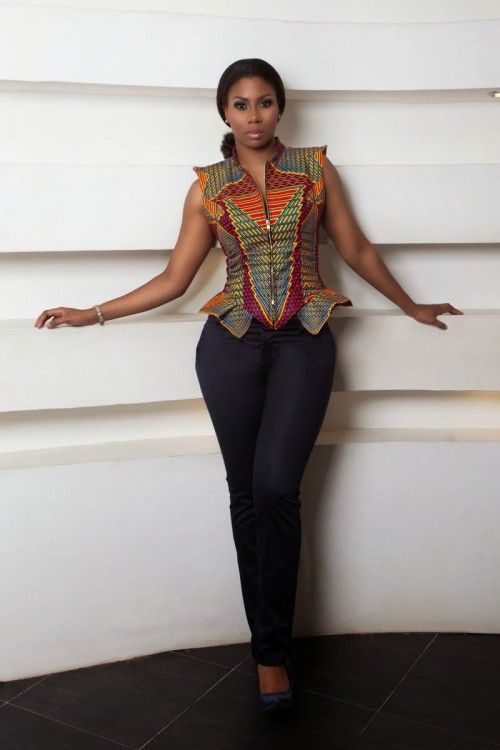Amazing Look Book By Ghanaian Label Stylista Gh; Entitled Wild | FashionGHANA.com: 100% African Fashion