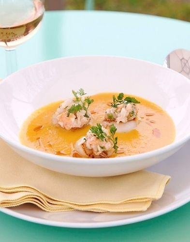 1000 id es sur le th me sauce de langoustines sur pinterest recette de scampi au poulet plats - Soupe butternut thermomix ...