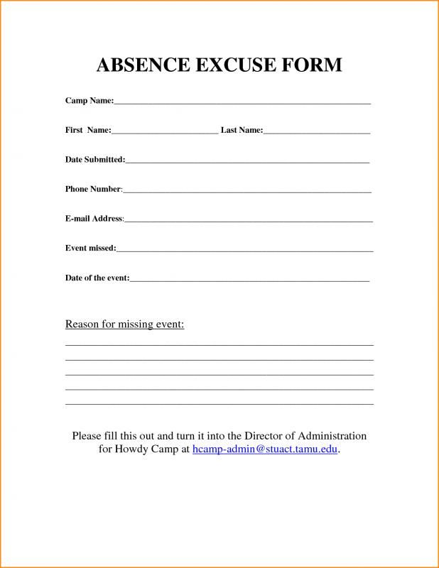 Free Printable Doctors Excuse For Work Doctors Note Template