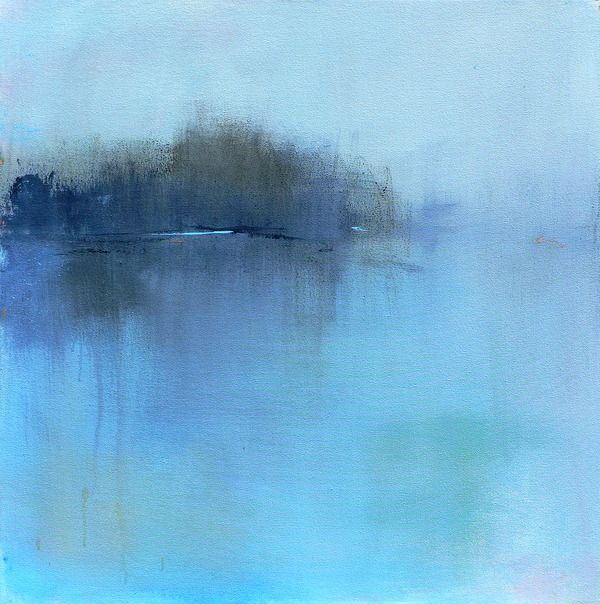 Beautiful contemporary landscape print. This is a print of one of my contemporary abstract landscape paintings inspired by the New England landscape. Although I live in MA, I often travel to Vermont, Maine and New Hampshire.