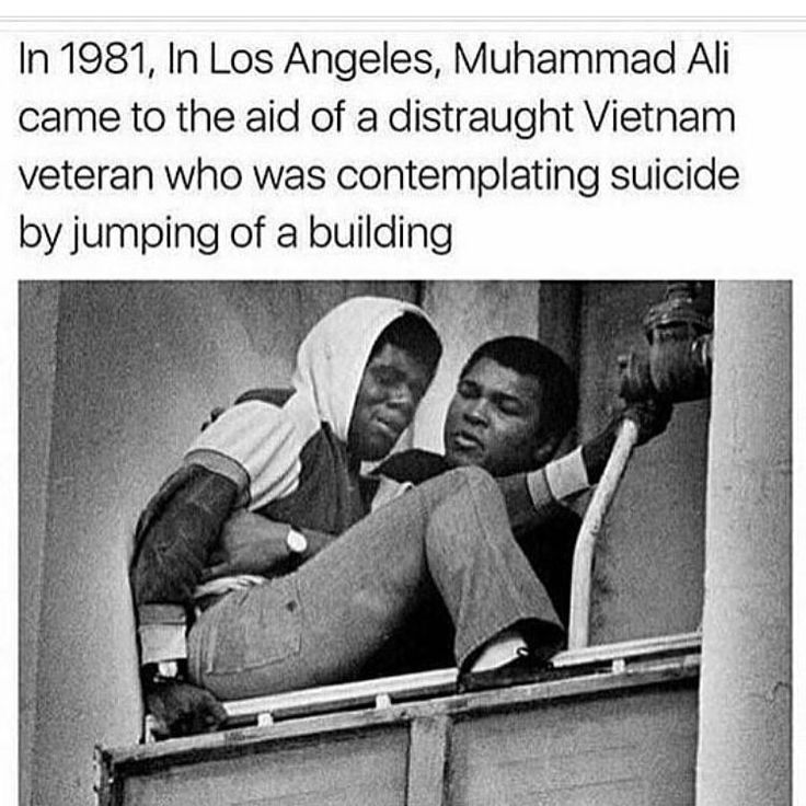 WOW! THE ARTICLE LINK IS ATTACHED http://www.dailymail.co.uk/news/article-3625686/Dramatic-moment-Muhammad-Ali-talked-suicidal-man-jumping-ninth-floor-window.html