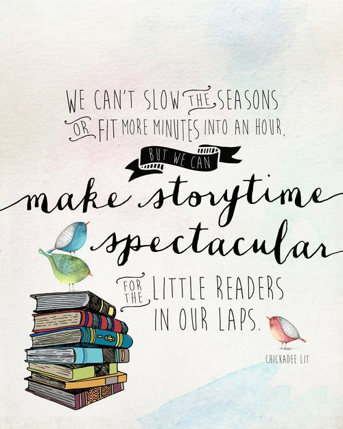 Check out this fun blog! Chickadee Lit is all about kids books—reviews of the BEST new titles, organized lists, and storytime tips from a mom and teacher. Check her out for inspiration! www.chickadeelit.com
