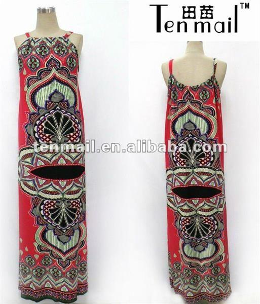 Платье в стиле батик
