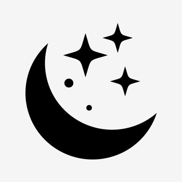 Vector Moon Icon Moon Clipart Black And White Moon Icons Moon Icon Png And Vector With Transparent Background For Free Download Moon Icon Location Icon Icon