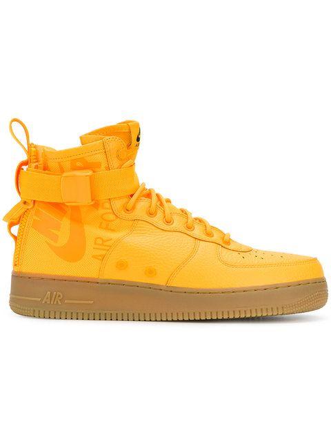 online store 4e5d9 bcf90 Shop Nike SF Air Force 1 Mid OBJ sneakers