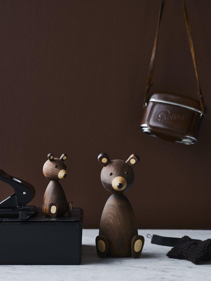 Bear Family, Baby Bear & Mama Bear  /  Lucie Kaas