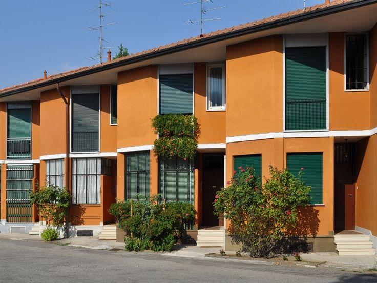 Quartiere ina casa a cesate franco albini e milano for Case di architetti