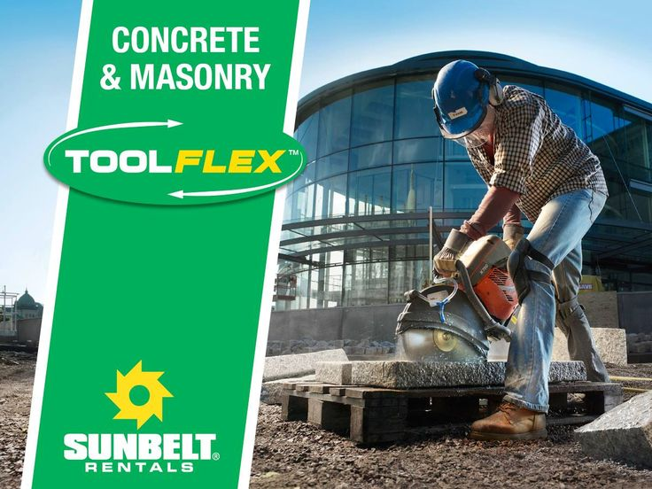 No matter the scale, Sunbelt Rentals is here to help through every phase of your concrete job. From portable mixers and cutoff saws to power trowels and dust vacs, rely on our ToolFlex™ program to get the tools and equipment needed for any mixing, placing or finishing concrete project. Begin building your custom rental pack today with ToolFlex™