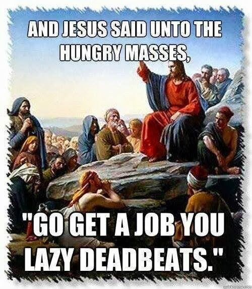 Republican Jesus. -