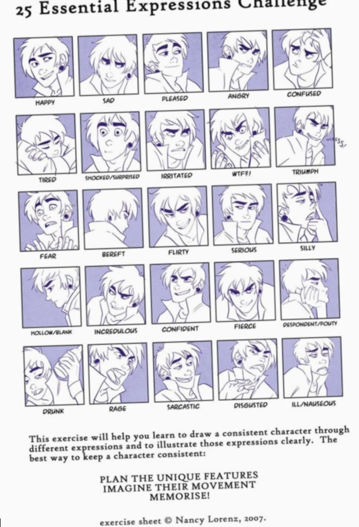 6 Anime Face Male Facial Expressions Anime Faces Expressions Facial Expressions Face Expressions