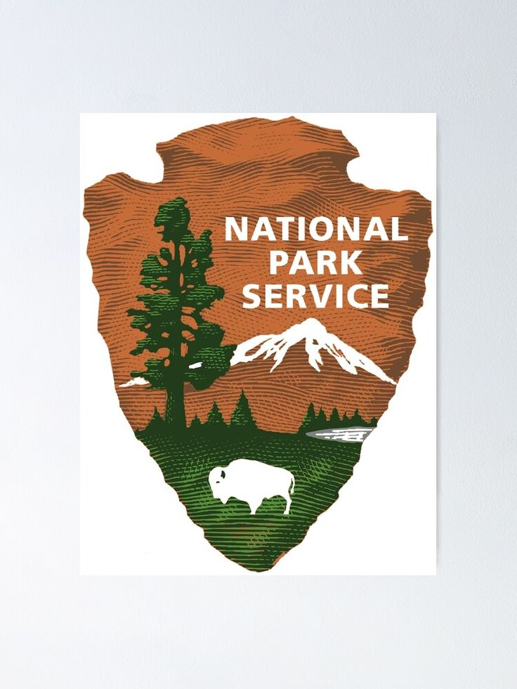 'National Park Service Logo' Poster by Dee Law in 2020