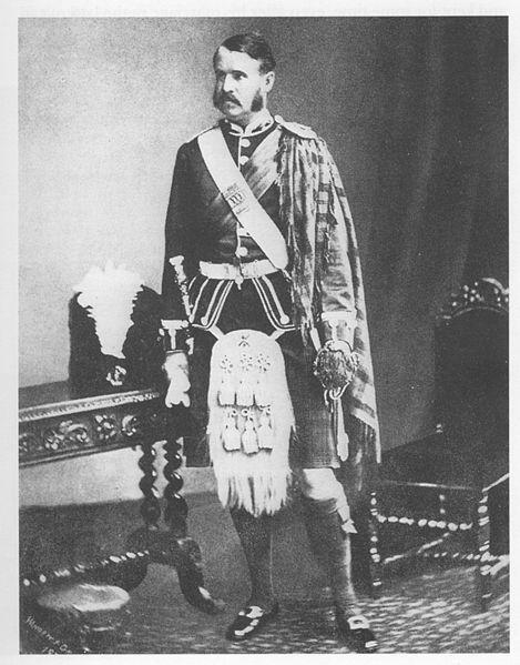 1870s - Royal Aberdeenshire Highlanders tartan