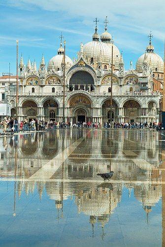 Pza. de San Marcos, Venecia.