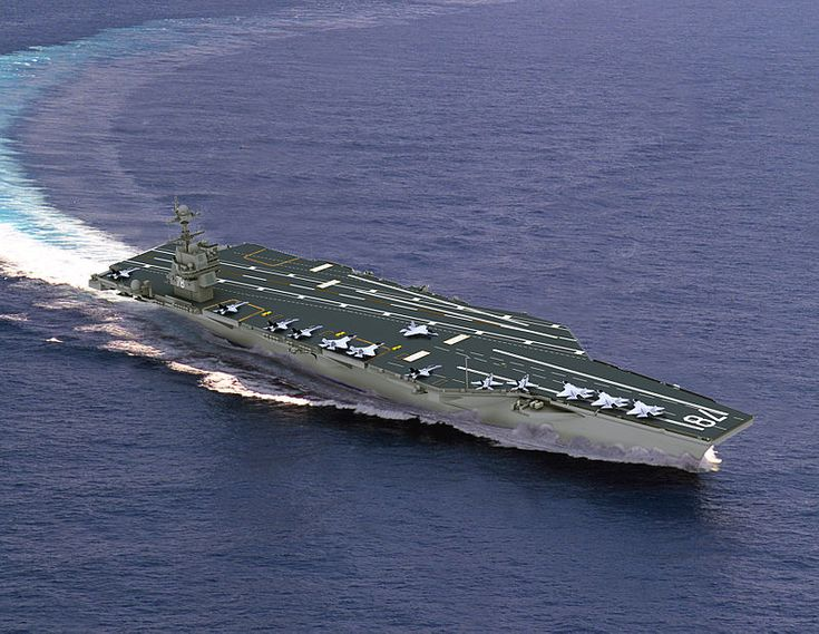 CVN-78 Artist Image - Gerald R. Ford-class aircraft carrier - Wikipedia, the free encyclopedia