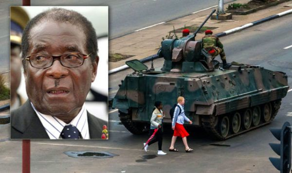 African Union order Zimbabwe's military Halt military actions and restore constitution order, said Wednesday that the crises in Zimbabwe seems like a coup.