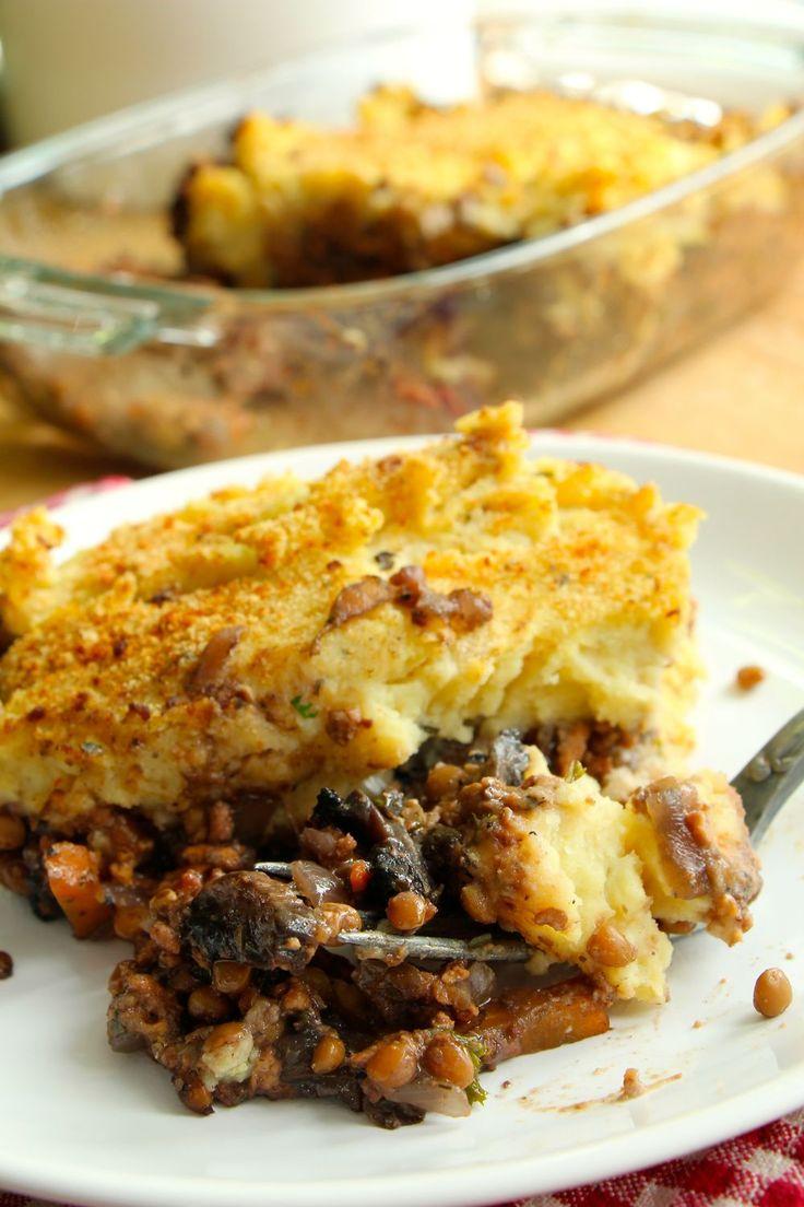Vegan cottage pie, le cousin anglais du hachis parmentier