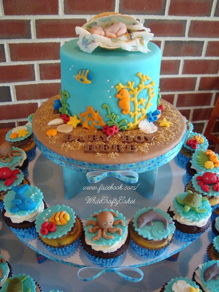 under the sea baby shower cake baby shower cake ideas baby shower