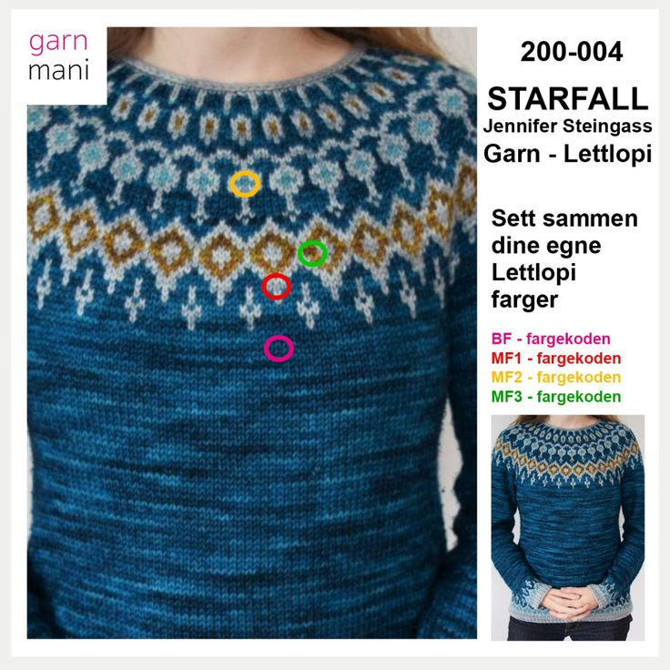200-004 STARFALL - Lettlopi