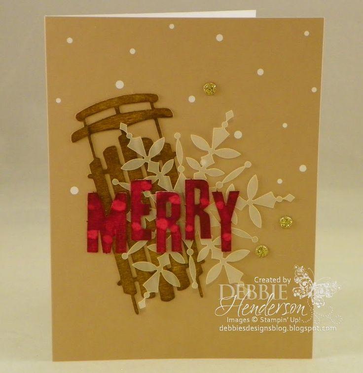 Debbie's Designs: Watercolor Winter Simply Created Card Kit!