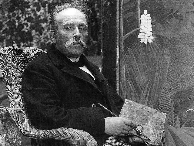 Le douanier Rousseau, né le 21 mai 1844 à Laval et décédé le 2 septembre 1910 à Paris