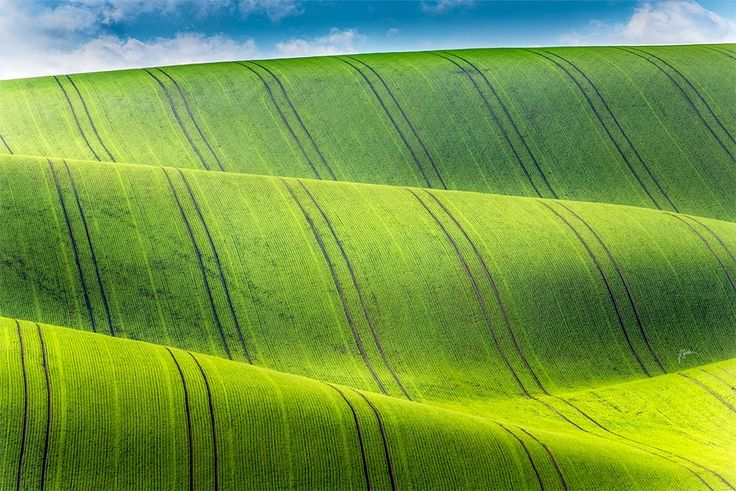 Possitive waves - South Moravia