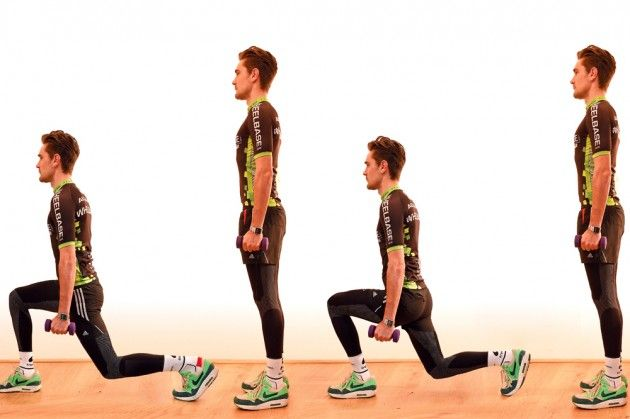Winter strength training for cyclists