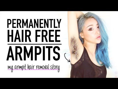 Hairy 2 Hairless ♥ How I removed my armpit hair permanently ♥ No waxing underarm removal ♥ Wengie - YouTube