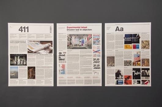 buamaiKristoff Wilson, Design Inspiration, 411 Newspaper, Newspaper Design, Graphics Design, Image, Buamai Curator, Communication Design, Editorial Design