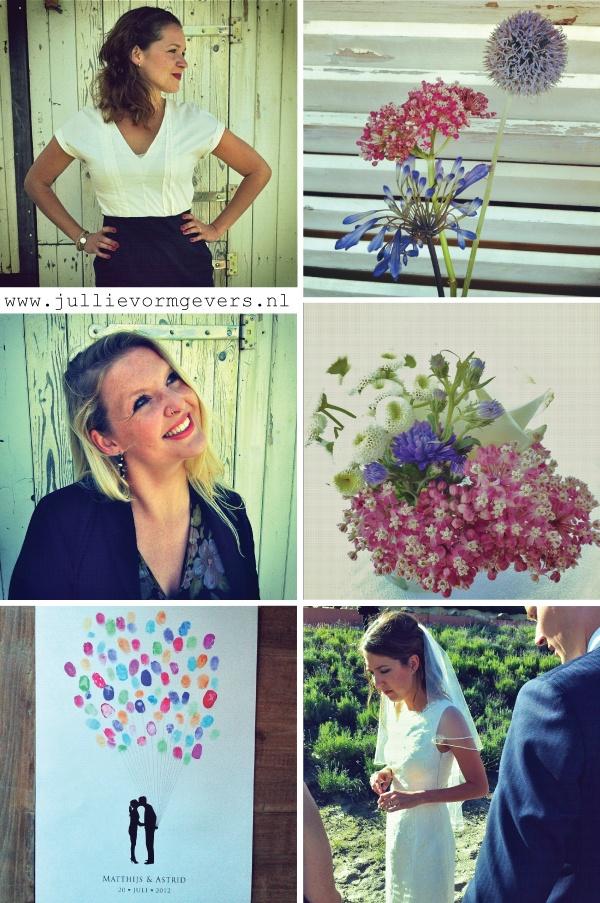 Wat: illustratie voor een bruiloft  Wanneer: 2012