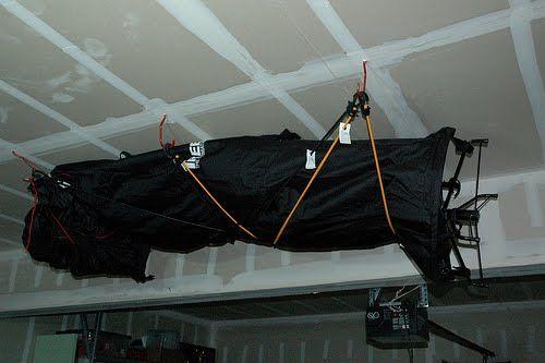 10 foot Christmas Tree Storage idea Repined by Yourfavorite Organizer on FB www.neatandsimpleorganization.net