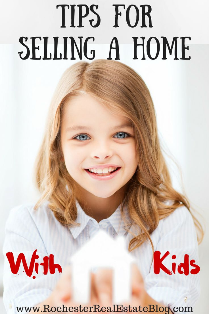 Tips For Selling A Home With Kids - http://www.rochesterrealestateblog.com/tips-for-selling-a-home-with-kids/ via @KyleHiscockRE #realestate #homeselling #kids