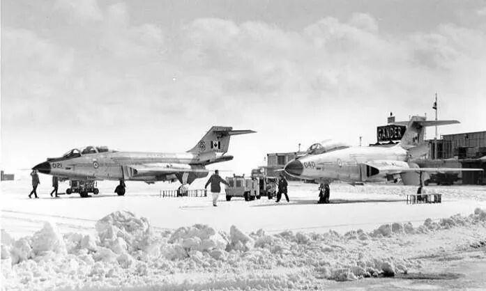 RCAF Voodoos