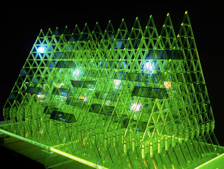 """""""shanghai-based multidisciplinary design company super nature design has developed 'lost in pascal's triangle',  an architectural sculpture that draws on the mathematics formula of french mathematician blaise pascal."""""""
