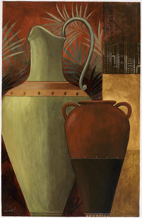 Chines Urn 2 Canvas Print / Canvas Art by Pablo Esteban