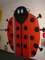 Ladybug door