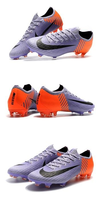 Nike Mercurial Vapor XII Elite FG Firm Ground Cleats - Purple Orange Black 3543eb16be1ef